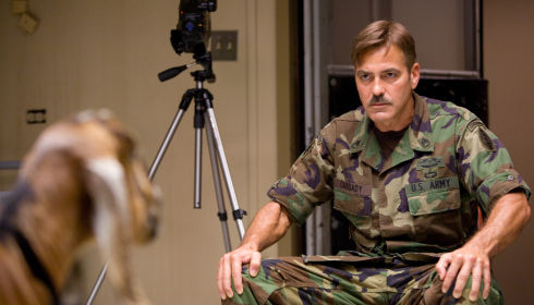 George Clooney in «The Men Who Stare at Goats»