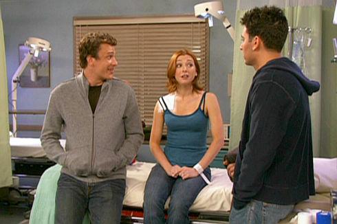 Jason Segel, Alyson Hannigan und Josh Radnor in «How I Met Your Mother»