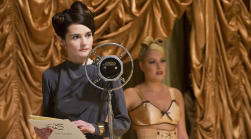 Shirley Henderson in «Miss Pettigrew Lives for a Day»