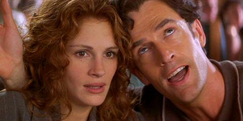 Julia Roberts und Rupert Everett in «My Best Friend's Wedding»