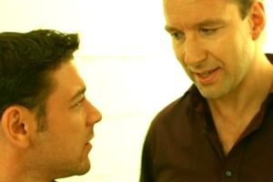 Leonardo Nigro und Michael Neuenschwander in «Nachbeben»