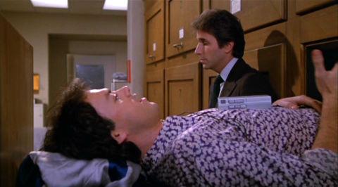 Michael Keaton und Henry Winkler in «Night Shift»