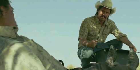 Josh Brolin in «No Country for Old Men»