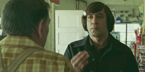 Javier Bardem in «No Country for Old Men»