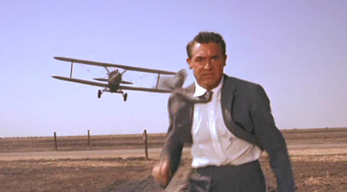 Cary Grant in «North by Northwest»