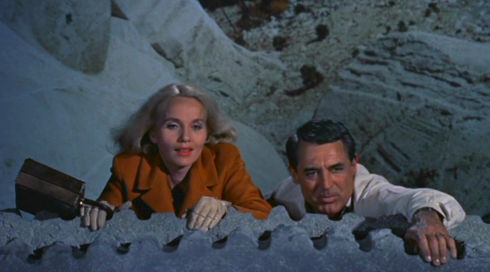 Eva Marie Saint und Cary Grant in «North by Northwest»