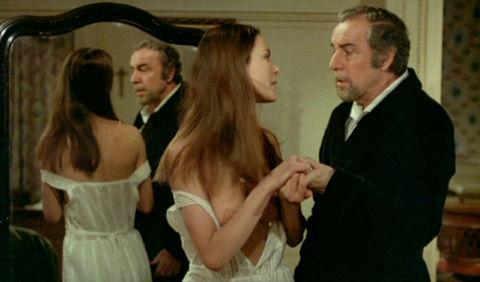 Carole Bouquet und Fernando Rey in «Cet obscur objet du désir»