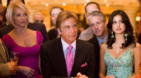 Ellen Barkin, Al Pacino und Noureen DeWulf in «Oceans Thirteen»