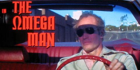 Charlton Heston in «The Omega Man»