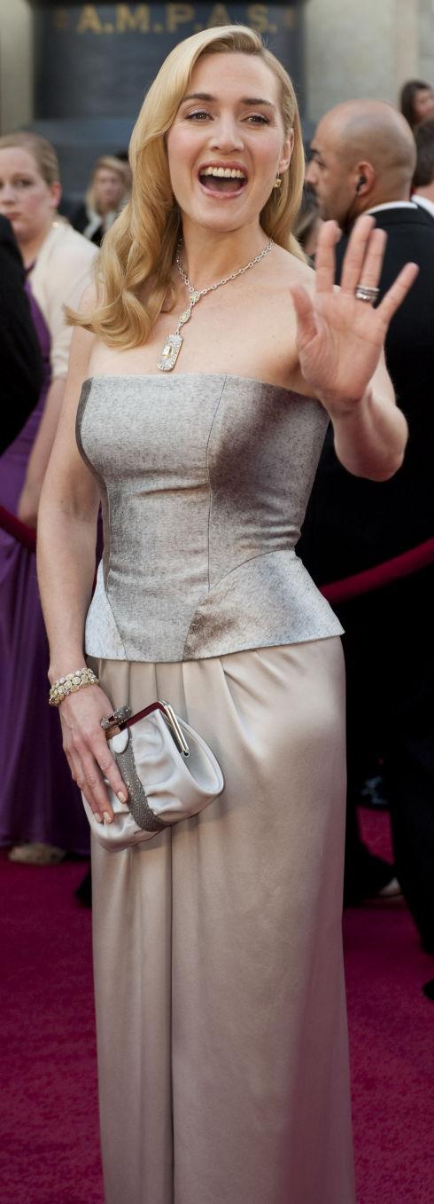Kate Winslet auf dem roten Teppich (Foto: Matt Petit/©A.M.P.A.S.)