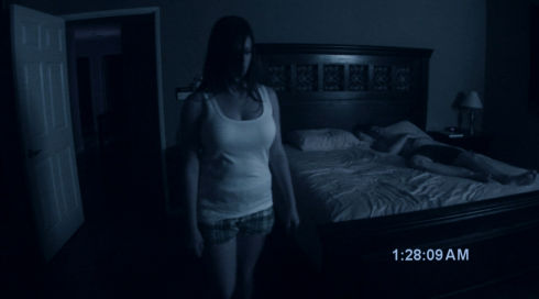 Katie Featherston und Micah Sloat in «Paranormal Acitivity»