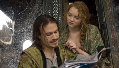 Heath Ledger und Lily Cole in «The Imaginarium of Doctor Parnassus»