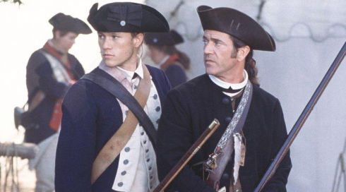 Heath Ledger und Mel Gibson in «The Patriot»