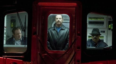 Gary Basaraba, John Travolta und Luis Guzmán in «The Taking of Pelham 1 2 3»