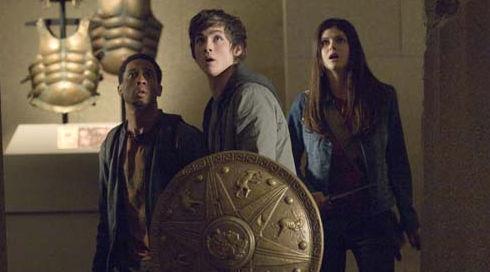Brandon T. Jackson, Logan Lerman und Alexandra Daddario in «Percy Jackson & the Lightning Thief»