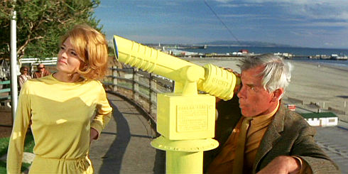 Angie Dickinson und Lee Marvin in «Point Blank»