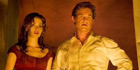 Emmy Rossum und Kurt Russell in «Poseidon»