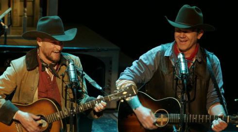 Woody Harrelson und John C. Reilly singen in «A Prairie Home Companion»