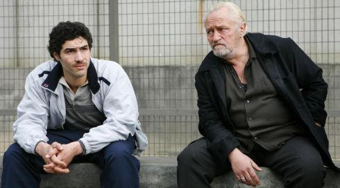 Tahar Rahim und Niels Arestrup in «Un prophète»