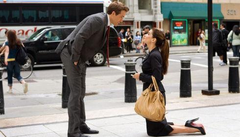 Ryan Reynolds und Sandra Bullock in «The Proposal»