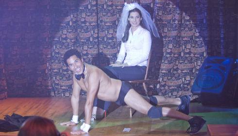 Oscar Nuñez und Sandra Bullock in «The Proposal»