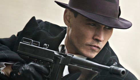 Johnny Depp in «Public Enemies»