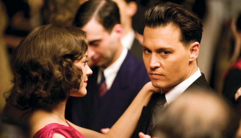 Marion Cotillard und Johnny Depp in «Public Enemies»