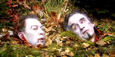 Viktor Giacobbo und Patrick Frey in «Räuberinnen»