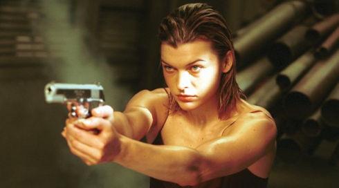 Milla Jovovich in «Resident Evil»