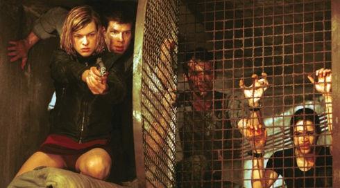Milla Jovovich, Eric Mabius, James Purefoy und Michelle Rodriguez in «Resident Evil»