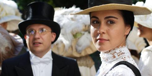Marius Florea Vizante und Mirela Zeta in «Restul e tacere»