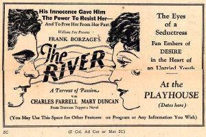 Werbevorschlag für «The River»