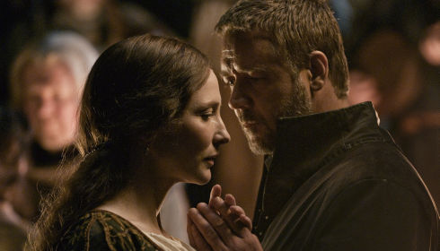 Cate Blanchett und Russell Crowe in «Robin Hood»