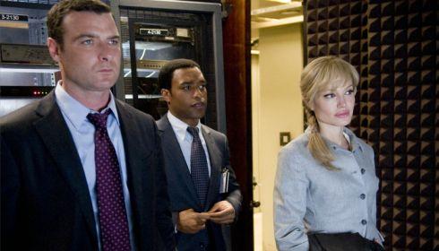 Liev Schreiber, Chiwetel Ejiofor und Angelina Jolie in «Salt»
