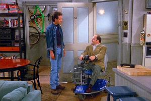 Jerry Seinfeld und Jason Alexander in «Seinfeld»