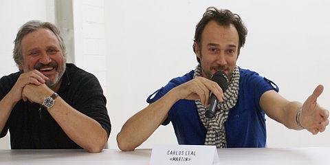 Andrea Zogg und Carlos Leal
