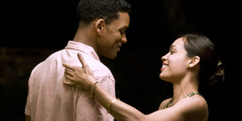 Will Smith und Rosario Dawson in «Seven Pounds»