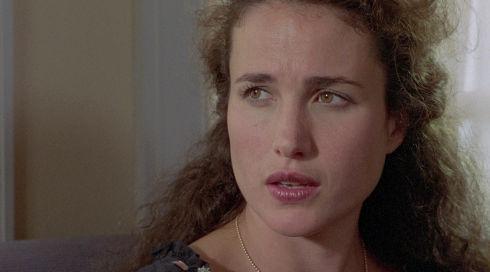 Andie MacDowell in «Sex, Lies, and Videotape»