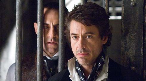 Mark Strong und Robert Downey Jr. in «Sherlock Holmes»