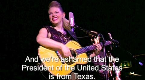 Natalie Maines in «Shut Up & Sing»