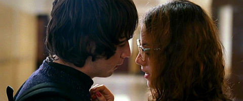 Michael Angarano und Olivia Thirlby in «Snow Angels»