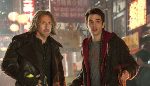 Nicolas Cage und Jay Baruchel in «The Scorcerer's Apprentice»