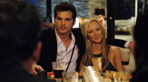 Ashton Kutcher und Anne Heche in «Spread»