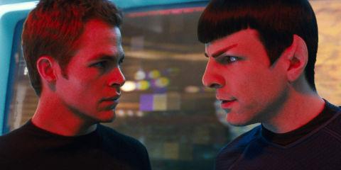 Chris Pine und Zachary Quinto in «Star Trek»