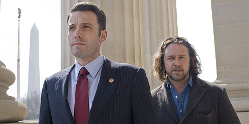 Ben Affleck und Russell Crowe in «State of Play»