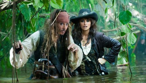 Johnny Depp und Penélope Cruz in «Pirates of the Caribbean: On Stranger Tides»
