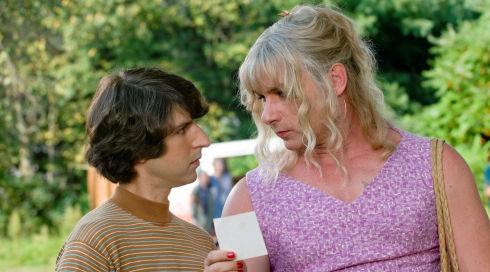 Demetri Martin und Liev Schreiber in «Taking Woodstock»