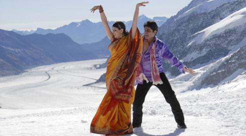 Shweta Agarwal und Tamal Raichowdhury in «Tandoori Love»