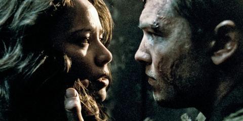 Moon Bloodgood und Sam Worthington in «Terminator Salvation»