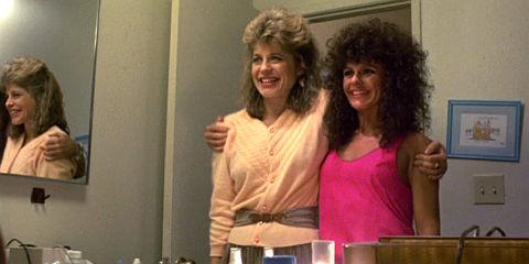 Linda Hamilton und Bess Motta in «The Terminator»